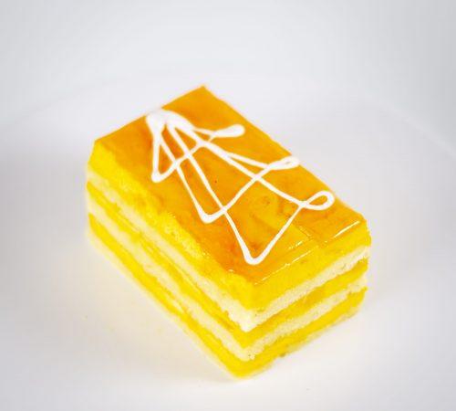 Mango Mousse Slice